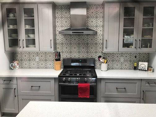 rock mill tile stone kitchen backsplash kitchens by ibt rh pinterest com
