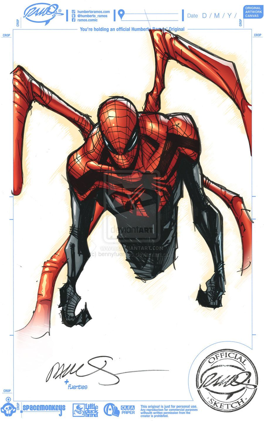 Superior Spider-man - Colors on sketch by bennyfuentes ...