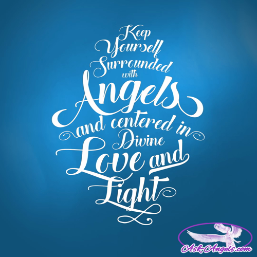Keep yourself surrounded with angels and centered in Divine Love and light.  #angelicguidance https://video.buffer.com/v/58082c625dd3b5c72a8b4581