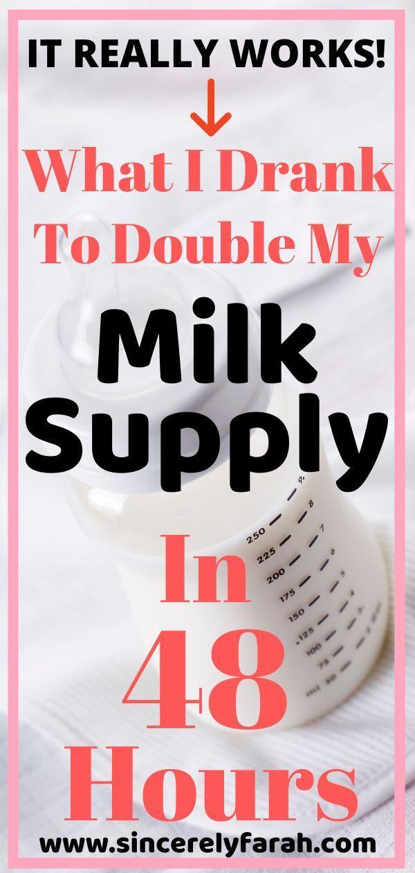 10 best drinks to boost milk supply fast in 2020  milk