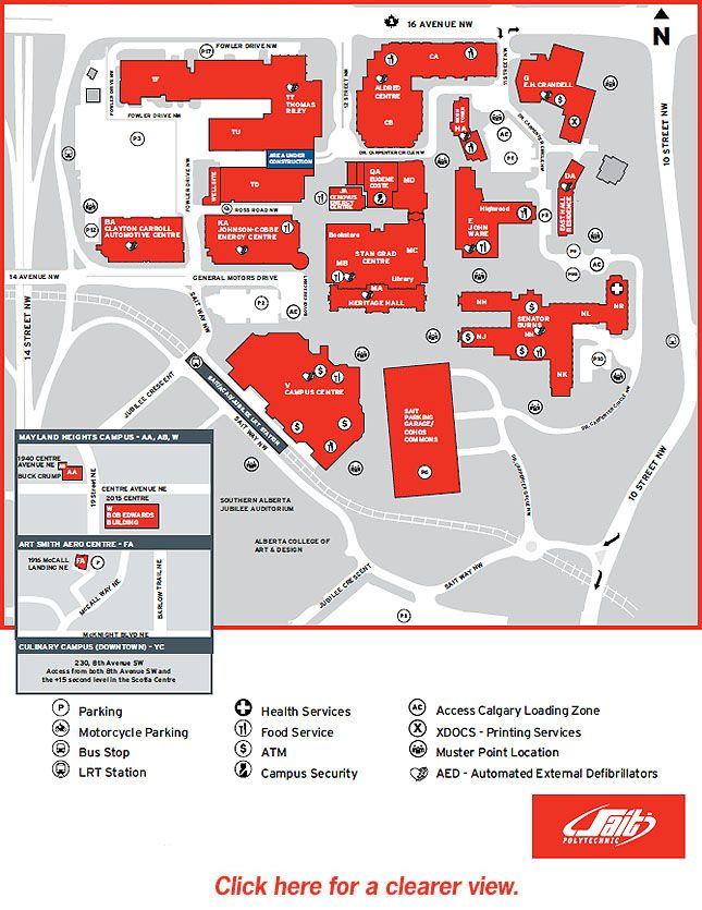 U O F T Campus Map.Pin By Micheline On Calgary Alberta Canada Pinterest Campus Map