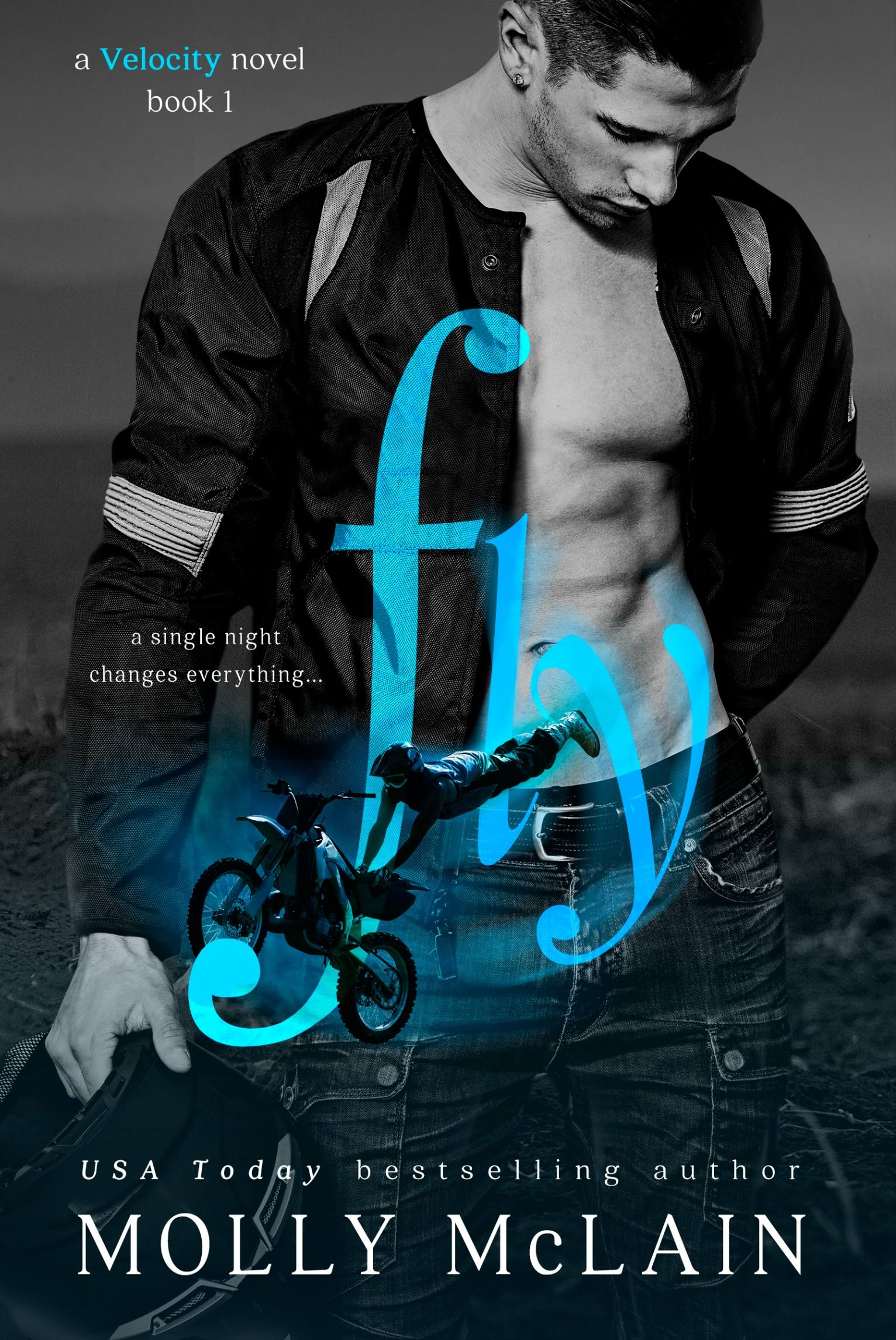 Cover Reveal Fly Velocity 1 By Molly Mclain