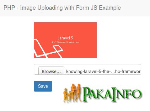 Laravel Ajax Upload file image without submitting form | Angular 6