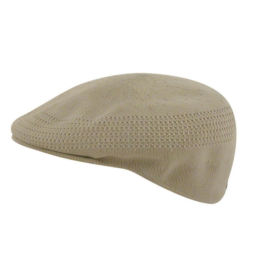Authentic Mens KANGOL Beige 0290BC Tropic Classic Ventair 504 Summer Ivy Hat Cap