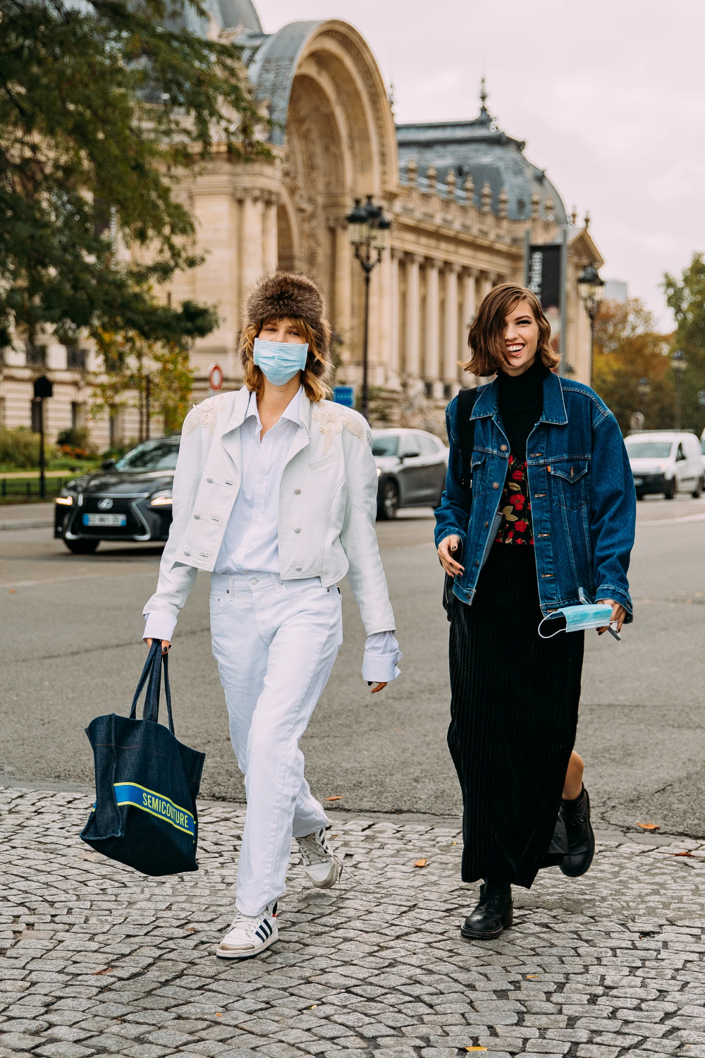 The Best Street Style From Paris Fashion Week Spring 8  Cool