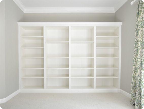 Boekenkast Billy Van Ikea.From Billys To Built Ins Diy Billy Boekenkasten