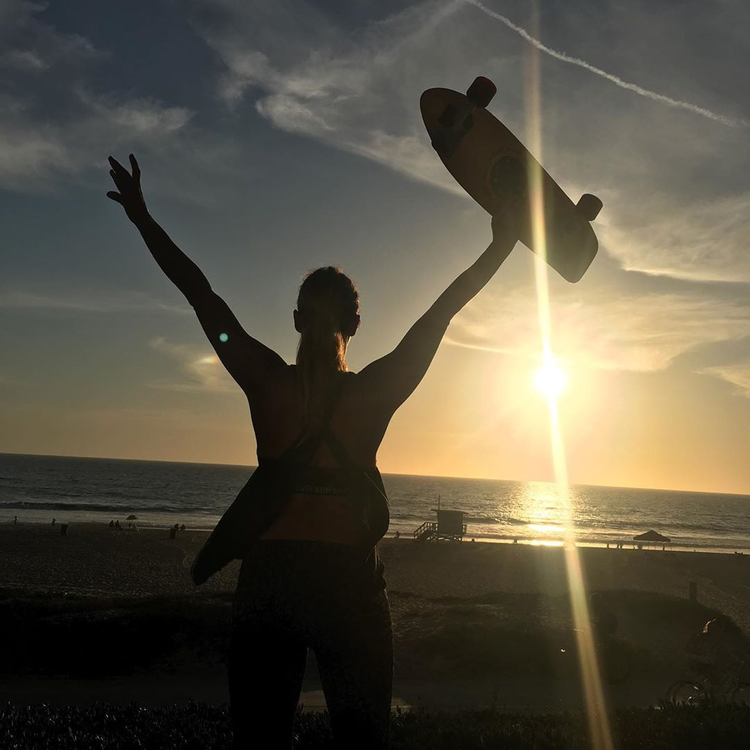 Anything Is Possible Believe In Yourself Sunset Losangeles California Ca La Fitness Workout Hiit Exercise La Fitness Hiit Workout Instagram