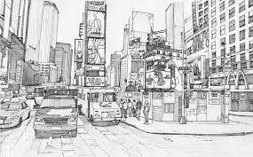 Coloriage Adulte New York.Resultat De Recherche D Images Pour Manhattan Dessins Times