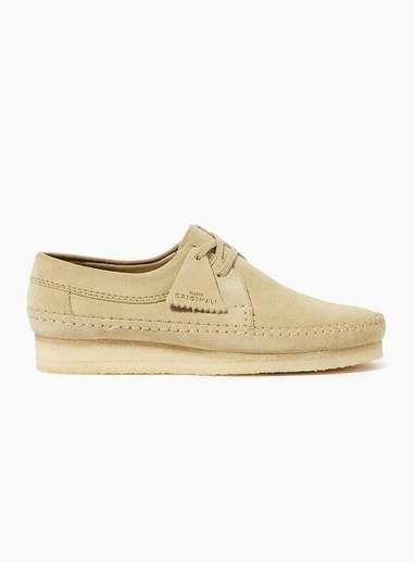 bc1277e98a Clarks Mens Brown Tan Suede Weaver 'Wallabee' Shoes Clarks Originals, Shoe  Shop,