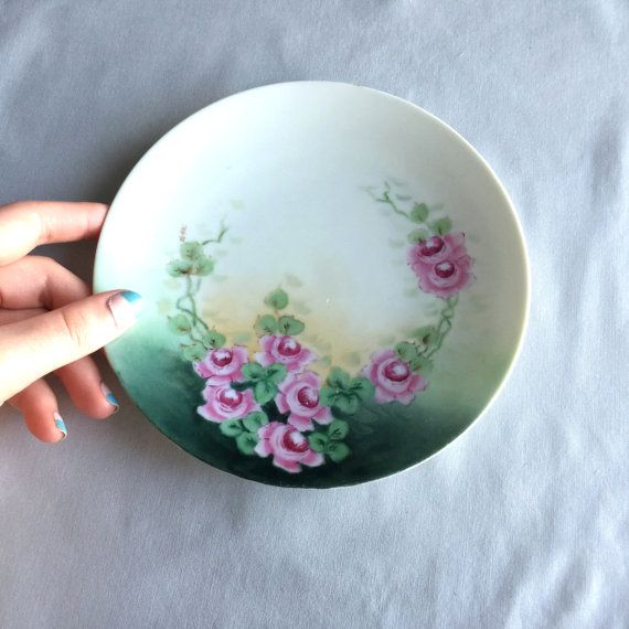 Decorative Plate // Decorative Ceramic Plate // Candle Plate // Hand Painted Plate & Decorative Plate // Decorative Ceramic Plate // Candle Plate // Hand ...