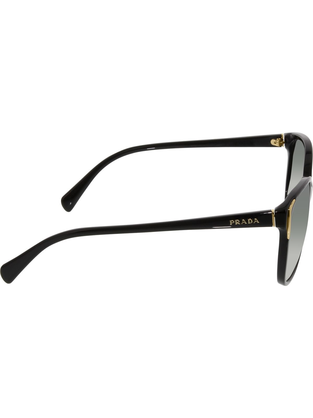 5ea476a75641 Details about Prada Women s Gradient PR01OS-1AB3M1-55 Black Cat Eye ...