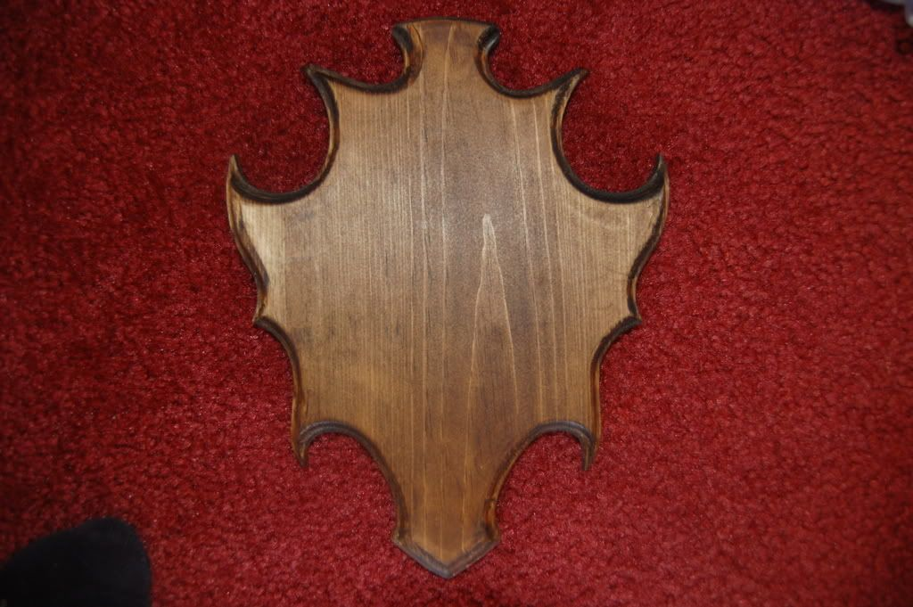 Walnut Hollow 38823 Basswood Shield Plaque 9 by 12