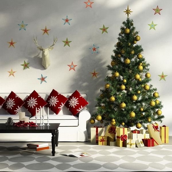 Deck Your Walls With Christmas Decal Decor Christmas Decal Deck Decor Walls With Your Gifts Holiday Wall Decor Christmas Wall Decor Christmas Decals