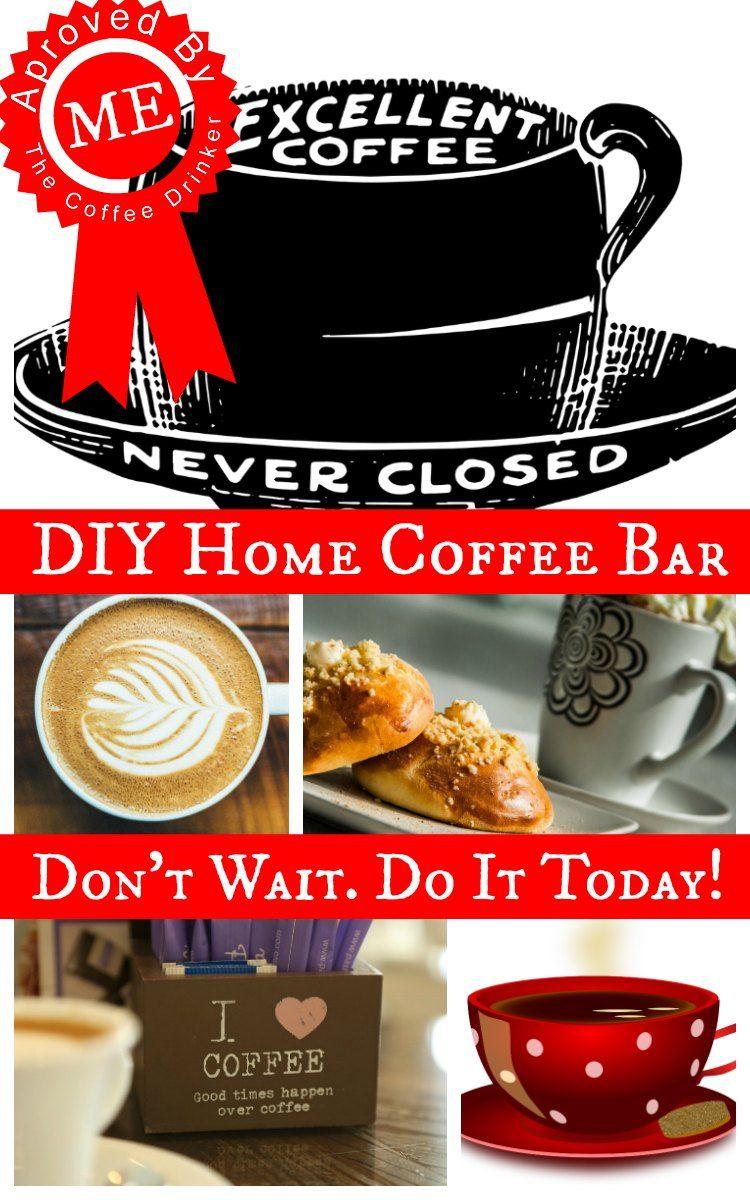 Set Up Coffee Bar At Home Coffee Bar Home Coffee Bar Bar Set Up