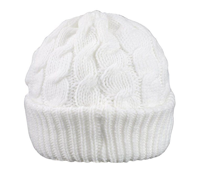 dcf5f8c8b4b Newsboy Cable Knitted Hat with Visor Bill Winter Warm Hat for Women in  Black