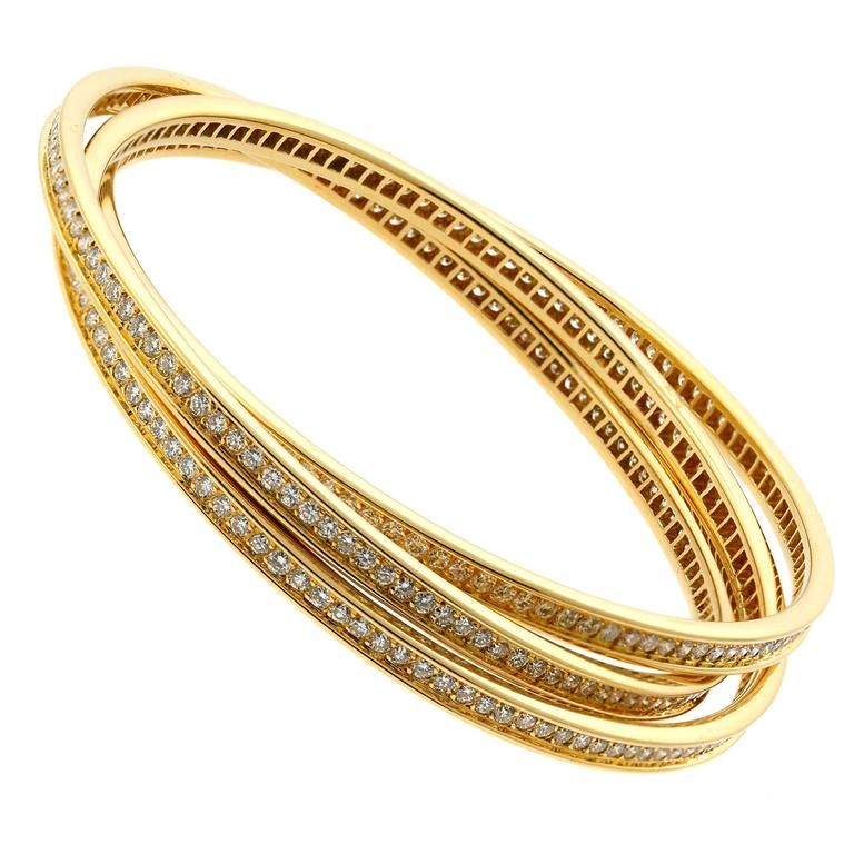 Cute Gold Bangles Bracelets Contemporary - Jewelry Collection ...