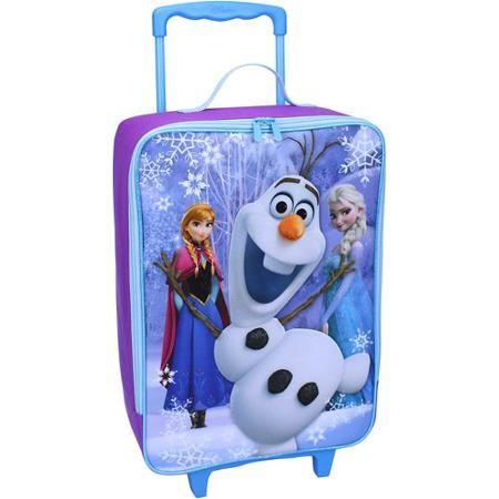 """Disney Frozen 16"""" Pilot Case, Light Blue/Purple $19"""