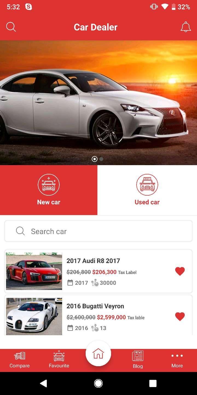Car Dealer Native Android Application Java Car