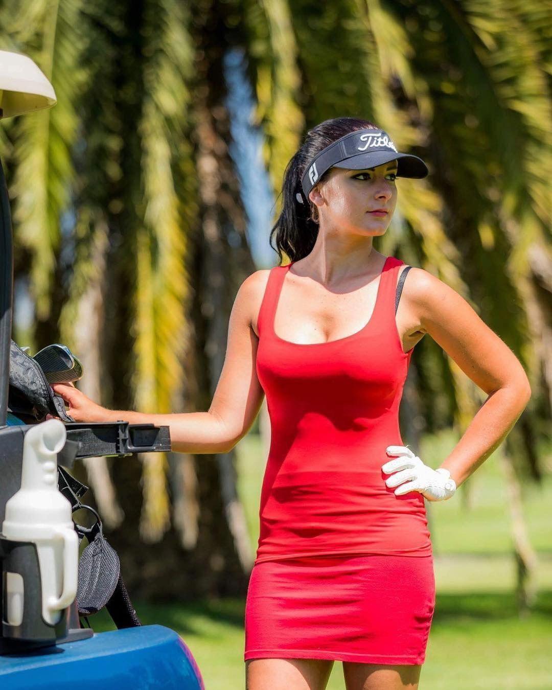 Golf course hotties.