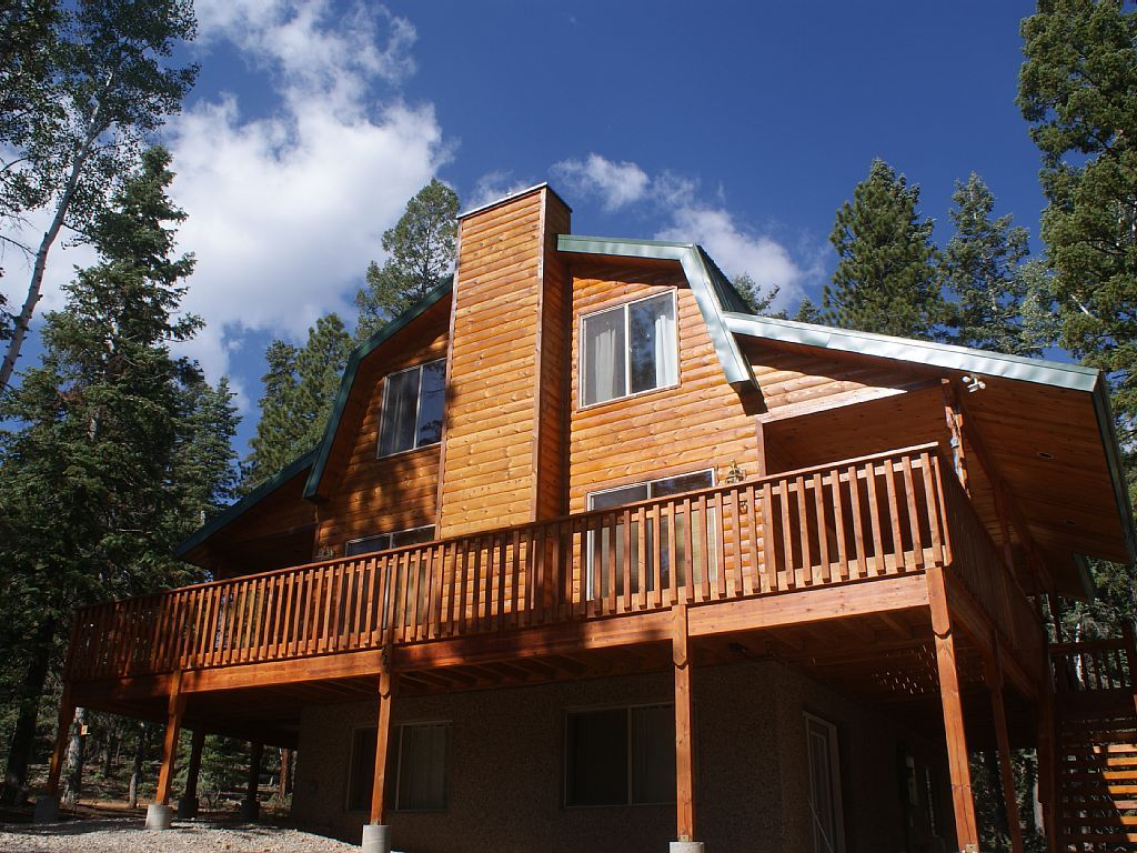Vrbo Com 574214 Whispering Pine Cabin Near Zion Park Bryce Canyon Cabin Cabin Vacation Cabin Rentals