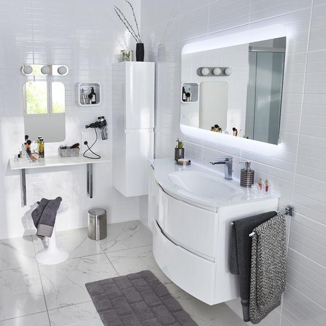 meuble salle de bain vague