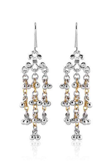 9e5635f1c7114 Estelle 24-Krt.#Gold Plated #Chandelier #Earrings #Jewelry Forever ...