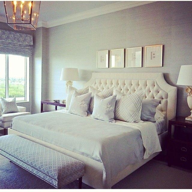 Beautiful & peaceful bedroom via Sarah Richardson