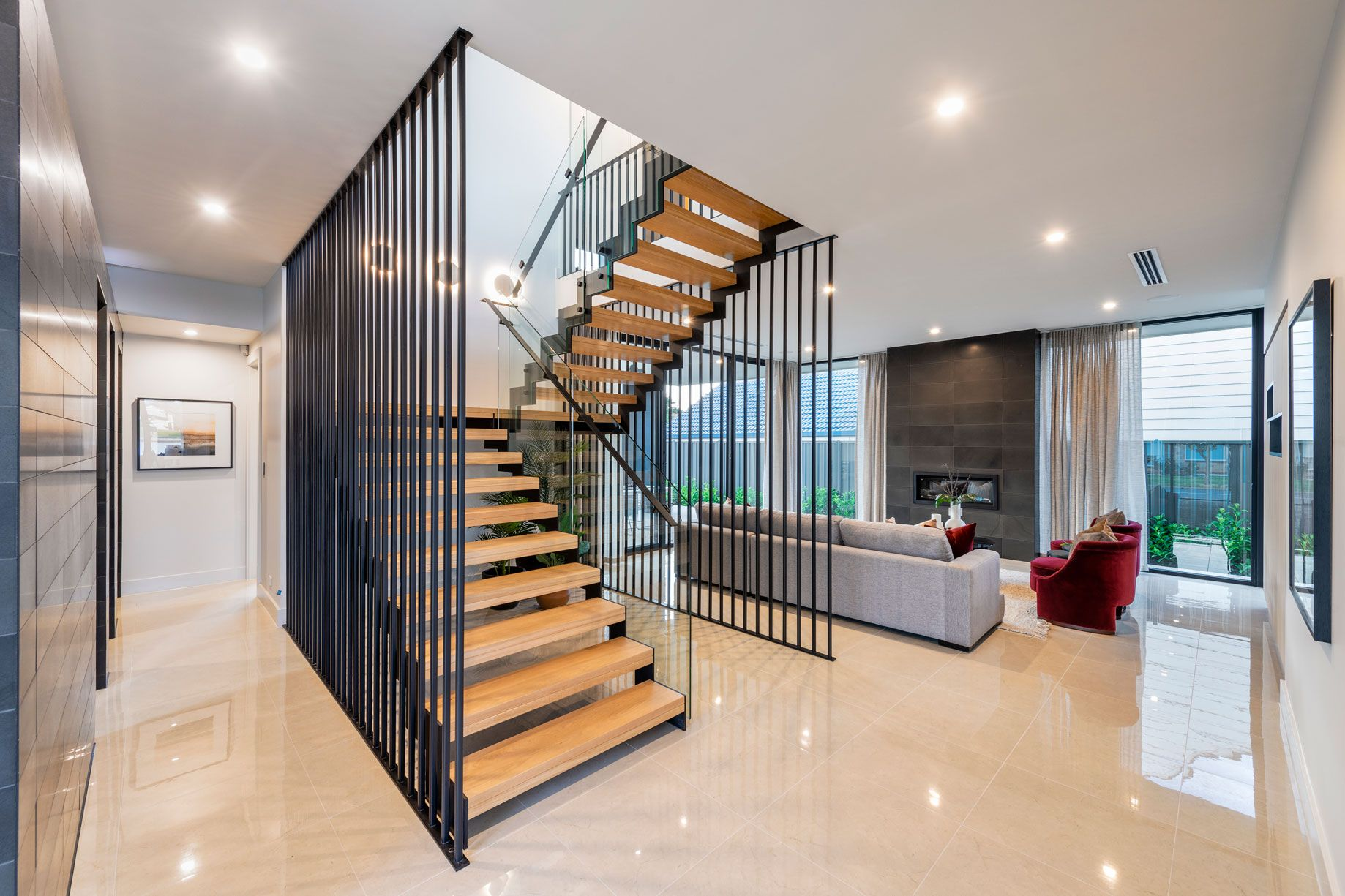Best Pin By S A Stairs On Our Projects In 2020 Steel Balustrade Stairs Design 400 x 300