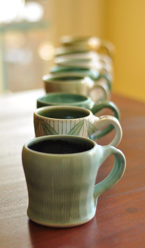 Lucy Fagella Pottery Mugs