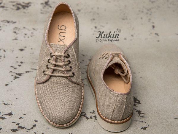 0f606109 zapatos-niño-lino zapatos-ceremonia-lino calzado infantil - zapatos  comunion niño
