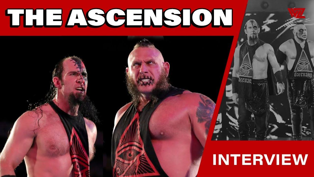 The Ascension Reveal Their New Tag Team Name The Ascension Reveal Their New Tag Team Name Nxt Aew Jericho In 2020 Team Names Wrestling News Ascension