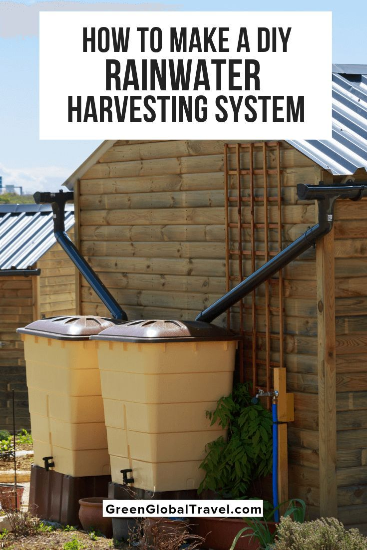 How To Make A DIY Rainwater Harvesting System What is Rainwater Harvesting Rainwater Harvesting Methods  Water Harvesting System  How To Make A Rainwater Tank  Advantages...