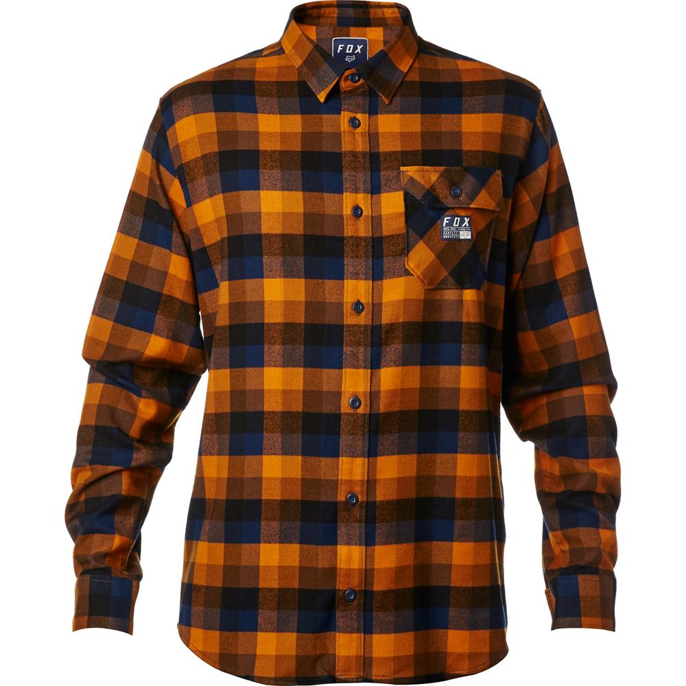 Orange flannel jacket  Rovar Flannel  Fox Racing  Deutschland  Woven Shirts  Pinterest