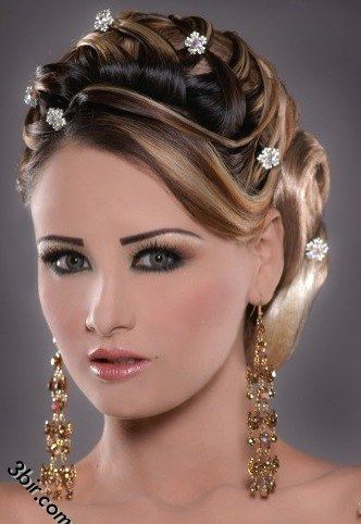Lebanese Oriental Makeup For A Wedding Maquillage Mariage Coiffure Soiree Coiffure