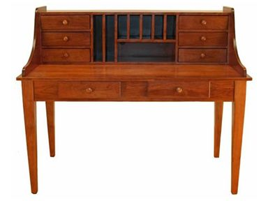 For Valley View Oak Paymaster Desk 70093 And Other Home Office Desks At Callan Furniture In St Cloud Waite Park Mn Options Pull Out Keyboard