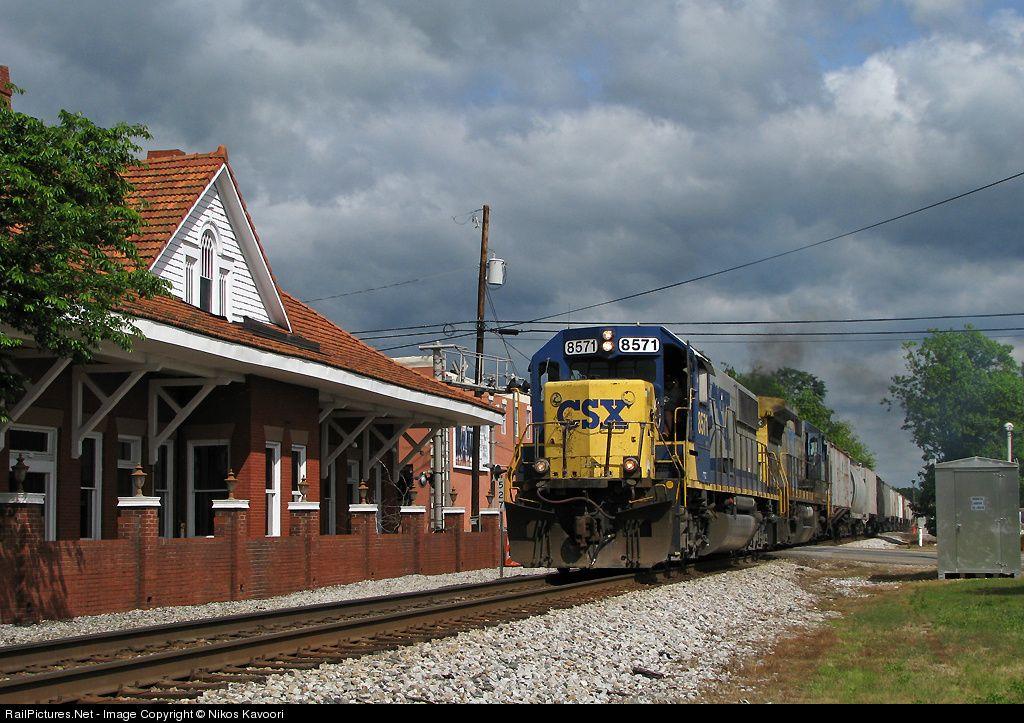 Railpictures Net Photo Csxt 8571 Csx Transportation Csxt Emd