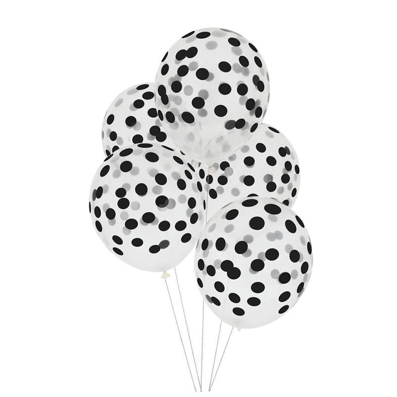 Dotted Balloons Zwart Bolinhas Ideias Ideias Aniversario