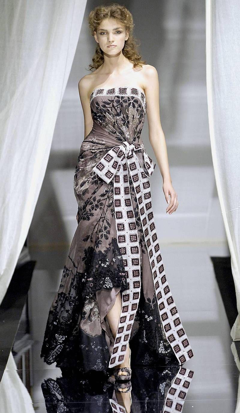 zuhair murad haute couture autumn 2007 dresses. Black Bedroom Furniture Sets. Home Design Ideas