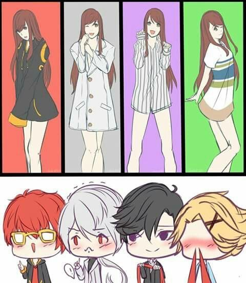 well don't I look great || Mystic Messenger ★