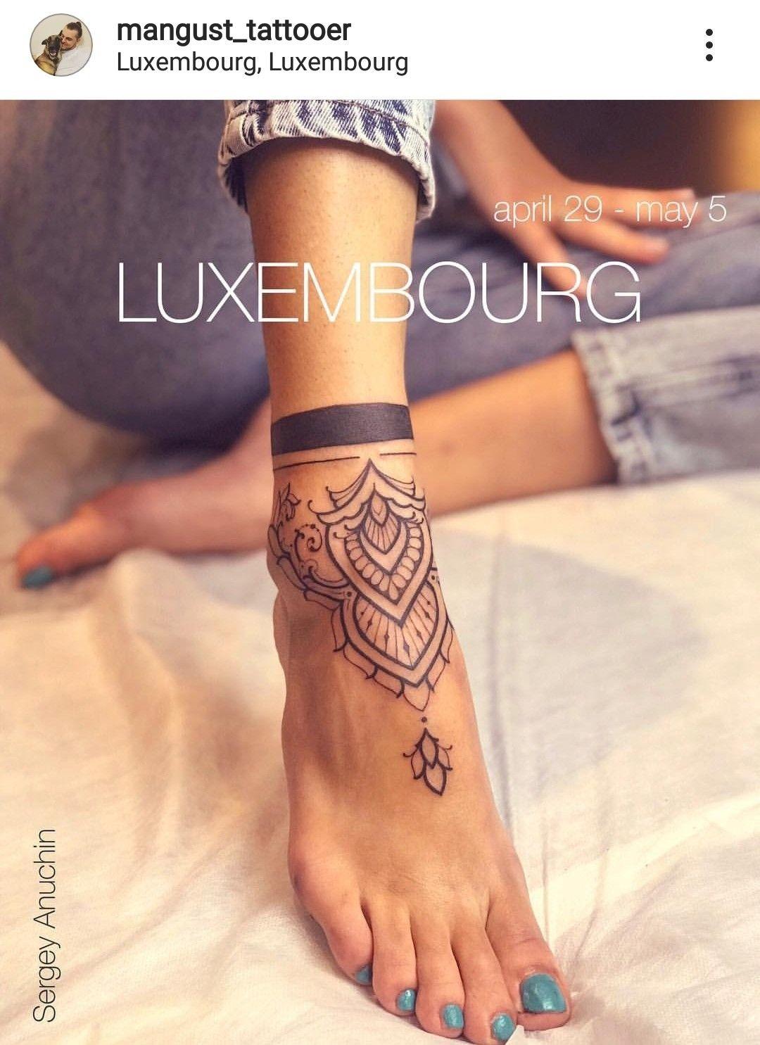 Pin By Johanna Sinkkonen On Cool Tattoos Henna Tattoo Foot Foot Tattoos For Women Ankle Tattoos For Women