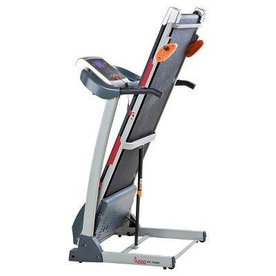 Sunny Health And Fitness SFT40 Manual Treadmill Products Classy Acrylic Magazine Holder For Treadmill