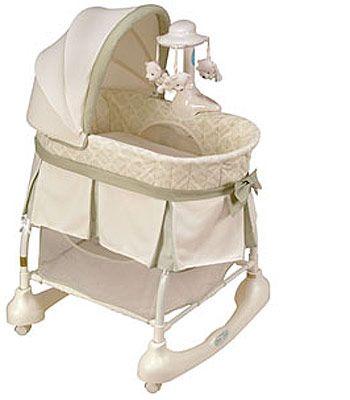 Kolcraft Cuddle N Care Rocking Bassinet 99 99 Babies R