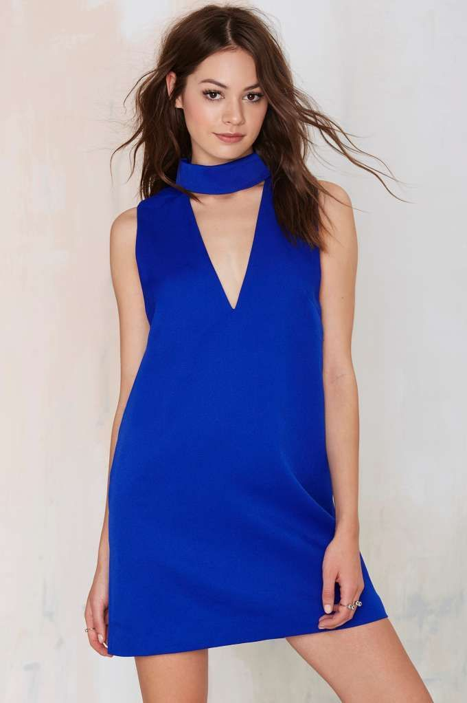 a3200132ba1 Cameo Collective Say It Right Cutout Dress - Blue
