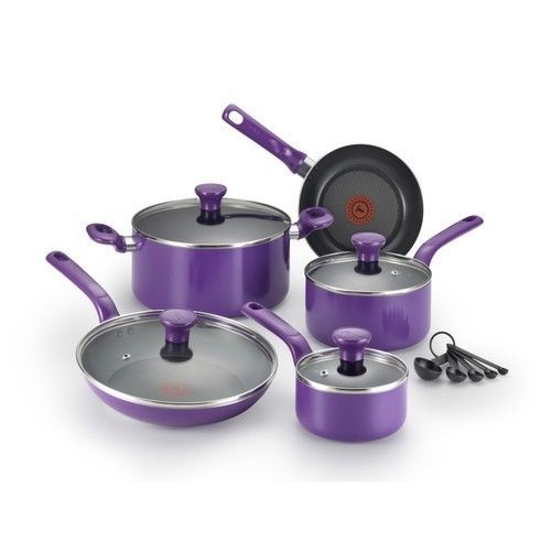 Non Stick Aluminum Cookware Set Kitchen Cooking Sets Pans ...