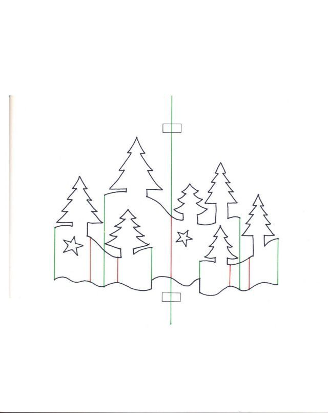 Weihnachtskarten0036 Pop Up Christmas Cards Christmas Card Template Christmas Paper Crafts Christmas Pop Up Card Templates Pop Up Christmas Cards Kirigami