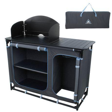 10T Campeggio Cucina Armadio con paravento Sink Gas