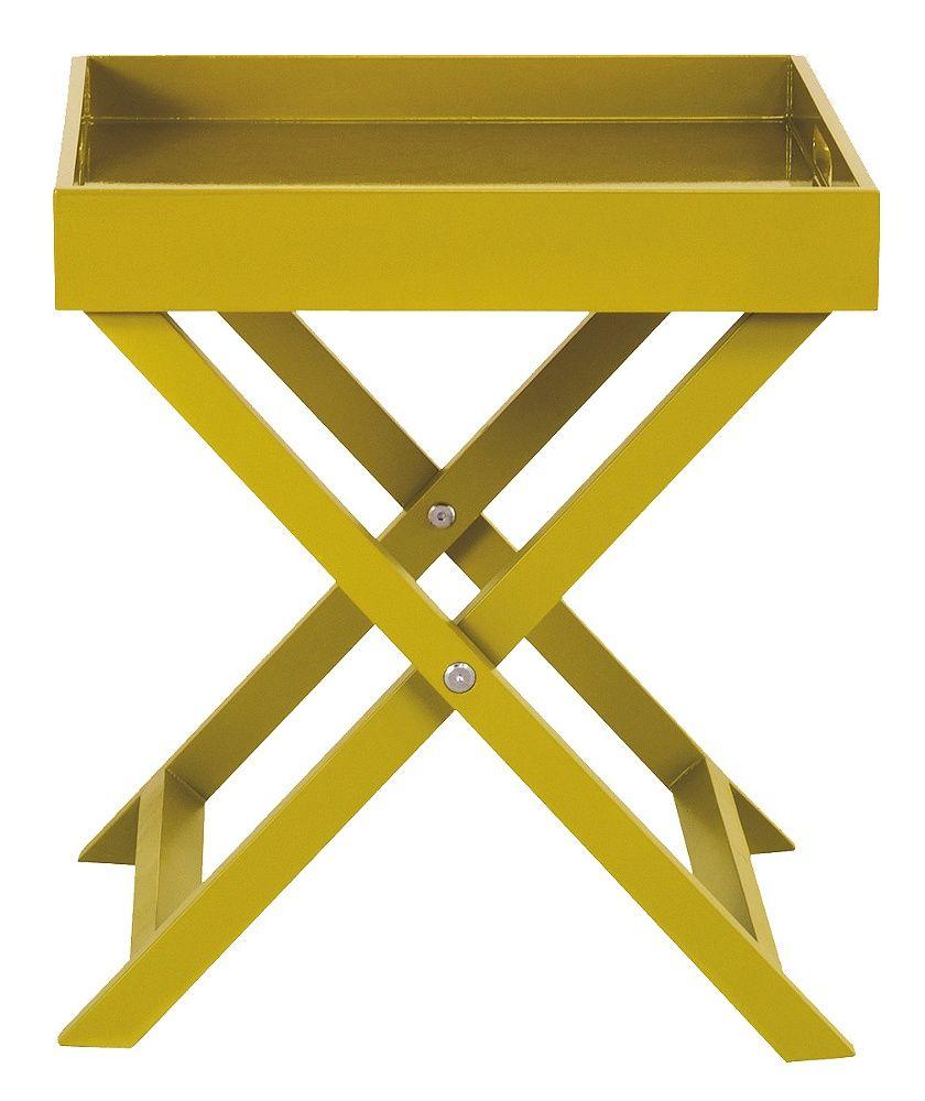 Buy Habitat Oken Small Occasional Table - Yellow at Argos ...