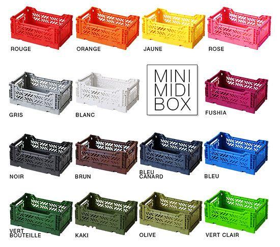 Midi Cagette Pliable Cagette Plastique Cagette Casier Rangement