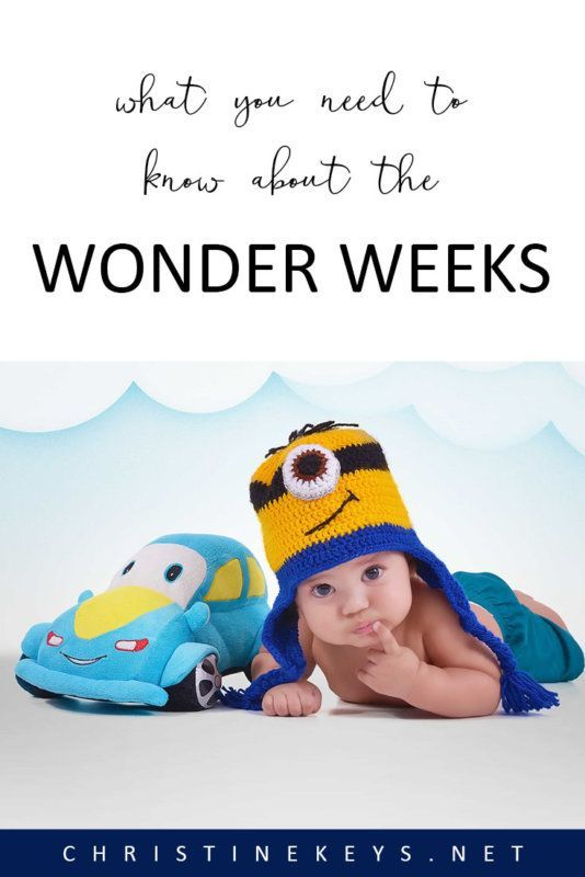 What You Need to Know About the Wonder Weeks || Find out what wonder weeks are and if they're worth paying attention to. #parenting #babies #toddlers #motherhood #development #wonderweeks