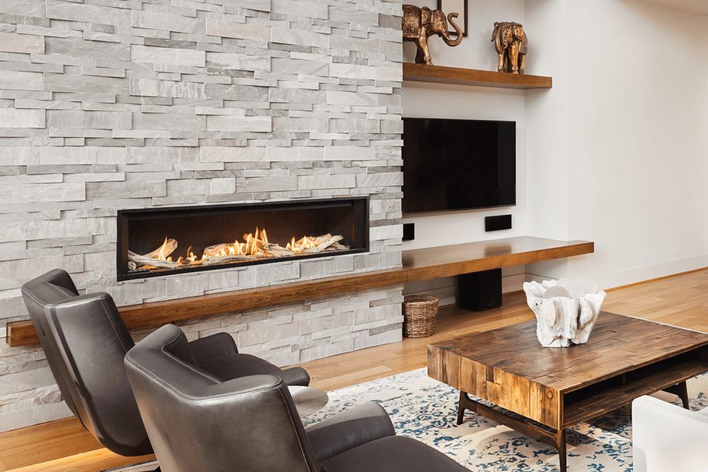 Valor L3 Linear Gas Fireplace | Barbecues Galore | Fireplaces ...